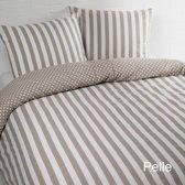 Day Dream dekbedovertrek Pelle - eenpersoons - 140x200/220 - Zand