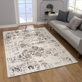 Laagpolig vloerkleed tapijt Garcon Vintage - 80x150 cm