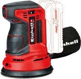 EINHELL Accu Excentrische Schuurmachine TE-RS 18 Li Solo - Power-X-Change - 18 V - Oscillaties: 14.000 - 20.000 p/min - Ø125 mm - Inclusief 1x schuurvel (K80) - Zonder accu & lader