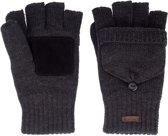 Starling Vingerloze Handschoenen Gebreid Unisex Noël Zwart Mt S