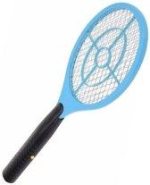 Blauwe elektrische vliegenmepper