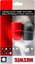 Simson verlichtingsset Simmy 29/13,5 lux USB