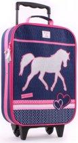 Milky Kiss PAARDEN Kinder Trolley Handbagage Paard Pony