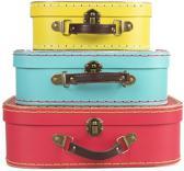 Sass & Belle | Kofferset retro (3-delig)