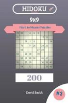 Hidoku Puzzles - 200 Hard to Master Puzzles 9x9 Vol.3