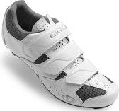 Giro Techne schoenen Dames, white/silver Schoenmaat EU 43