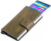 Figuretta Cardprotector PU-leather - Donkergroen PU 04