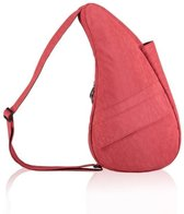 Healthy Back Bag Textured Nylon Small Tuscan Red met Ipad-vak 6303-TR