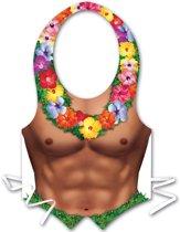 Mannen Hawaï schort - Verkleedattribuut