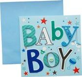 Wenskaart Geboorte Jongen Baby boy