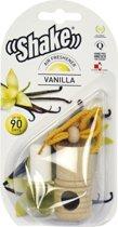 Shake Luchtverfrisser Vanilla + Navulling 2 X 4,5 Ml