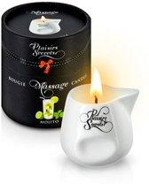 Plaisirs Secrets Massagekaars Mojito - 80 ml