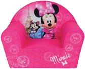 Disney Minnie Mouse Paris - Fauteuil - 42 x 52 x 33 cm - Roze