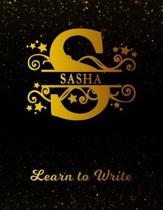 Sasha Learn to Write