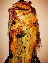 Paco's Málaga Art Dames Wintersjaals