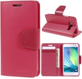 Goospery Sonata Leather case hoesje Samsung Galaxy Core Prime hot pink