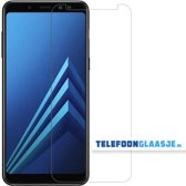 Glazen Screenprotector voor Samsung Galaxy A8 (2018) | Tempered glass | Gehard glas