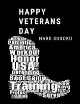 Happy Veterans Day Navy: 100 Medium Puzzles In Large Print Veterans Day
