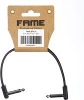 BFP/20 Patch Cable Flat 200mm (Black)