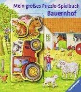 Mein großes Puzzle-Spielbuch Bauernhof