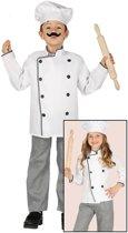 Chef Kok kostuum voor kinderen - verkleedpak 110-116 (5-6 jaar)