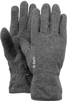 Barts Fleece Gloves Unisex Handschoenen - Heather Grey - Maat M