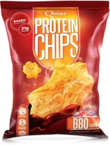 Quest Nutrition Quest Protein Chips - 1 box 8 - Bbq.