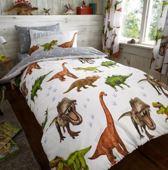 Eenpersoons dekbedovertrek 135 x 200 dinosaur
