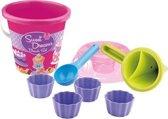 Cupcake Emmerset met Kloddertrechter Roze
