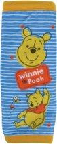 Pluche kinder Winnie de Poeh auto gordelhoes/gordelbeschermer 29 cm - Gordelkussen - Gordelbeschermhoezen - Auto accessoires