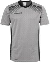 Uhlsport Goal Shirt Korte Mouwen Grijs - Maat 128