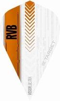 Target Ultra Raymond van Barneveld Vapor White Orange  Set à 3 stuks