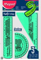 Twist'n Flex Kit 3-delig - blauw