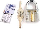 BonQ Lockpick Set - Transparant Slot - Incl Creditcard Met Tools