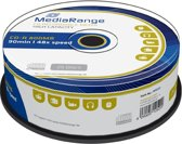 CD-R MediaRange 800MB 25pcs Spindel 52x