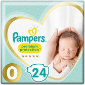 Pampers Premium Protection Luiers - Maat 0 - 24 stuks