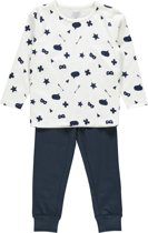 Name it Jongens Pyjamaset - BrightWh. - maat 104