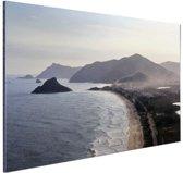 FotoCadeau.nl - Rio de Janeiro strand Aluminium 60x40 cm - Foto print op Aluminium (metaal wanddecoratie)
