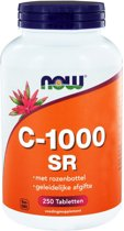 Now Vitamine C met Rose Hips, Sustained Release - 1000 mg - 250 tabletten