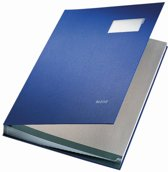 Leitz Vloeiboek Karton - 20 bladen - Blauw