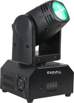 Ibiza Light - Lmh250 Rc | 10W RGBW LED Beam moving head met DMX en afstandsbediening
