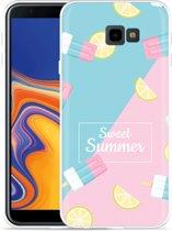 Galaxy J4 Plus Hoesje Sweet Summer