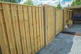 Intergard tuinpoort - compleet op stalen poortframe 100x180cm