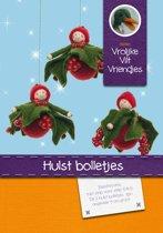 DIY wolvilt pakket: Hulst bolletjes