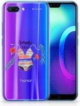 Huawei Honor 10 Uniek TPU Hoesje Boho Summer