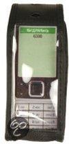 Globo'comm lederen tasje voor  Nokia 6300