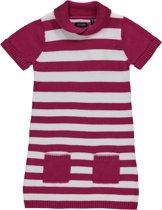 Blue Seven Meisjes Jurk Roze Wit gestreept - Maat 110