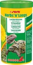 Sera Herbs 'n loops 1000ml kruiden en voeding voor herbivoren landschilpadden