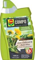 Anti-Onkruid & Anti-Mos Totale Onkruidbestrijder Concentraat 1 liter
