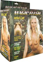 Seven Creations Magic Flesh Wild Cat -  Huidskleur - Opblaaspop